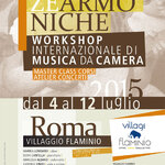 Workshop cameristico a Roma